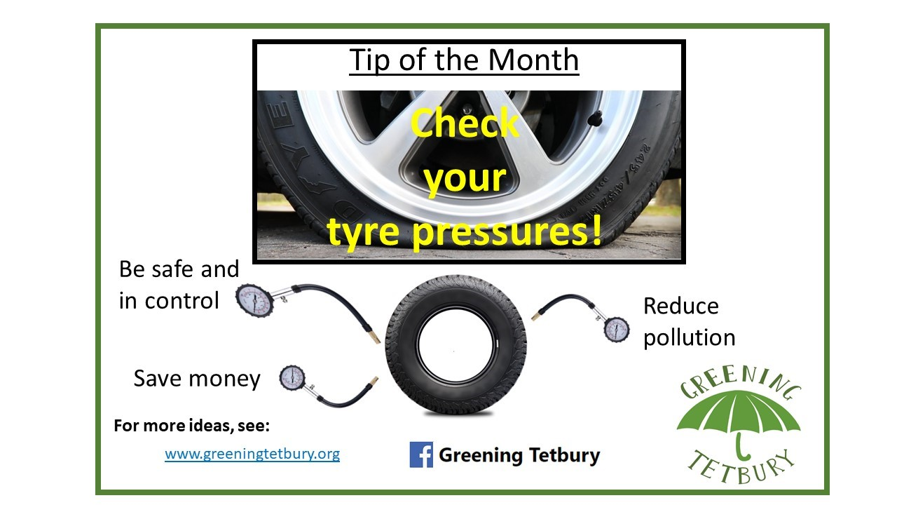 tyre greening tip of the month