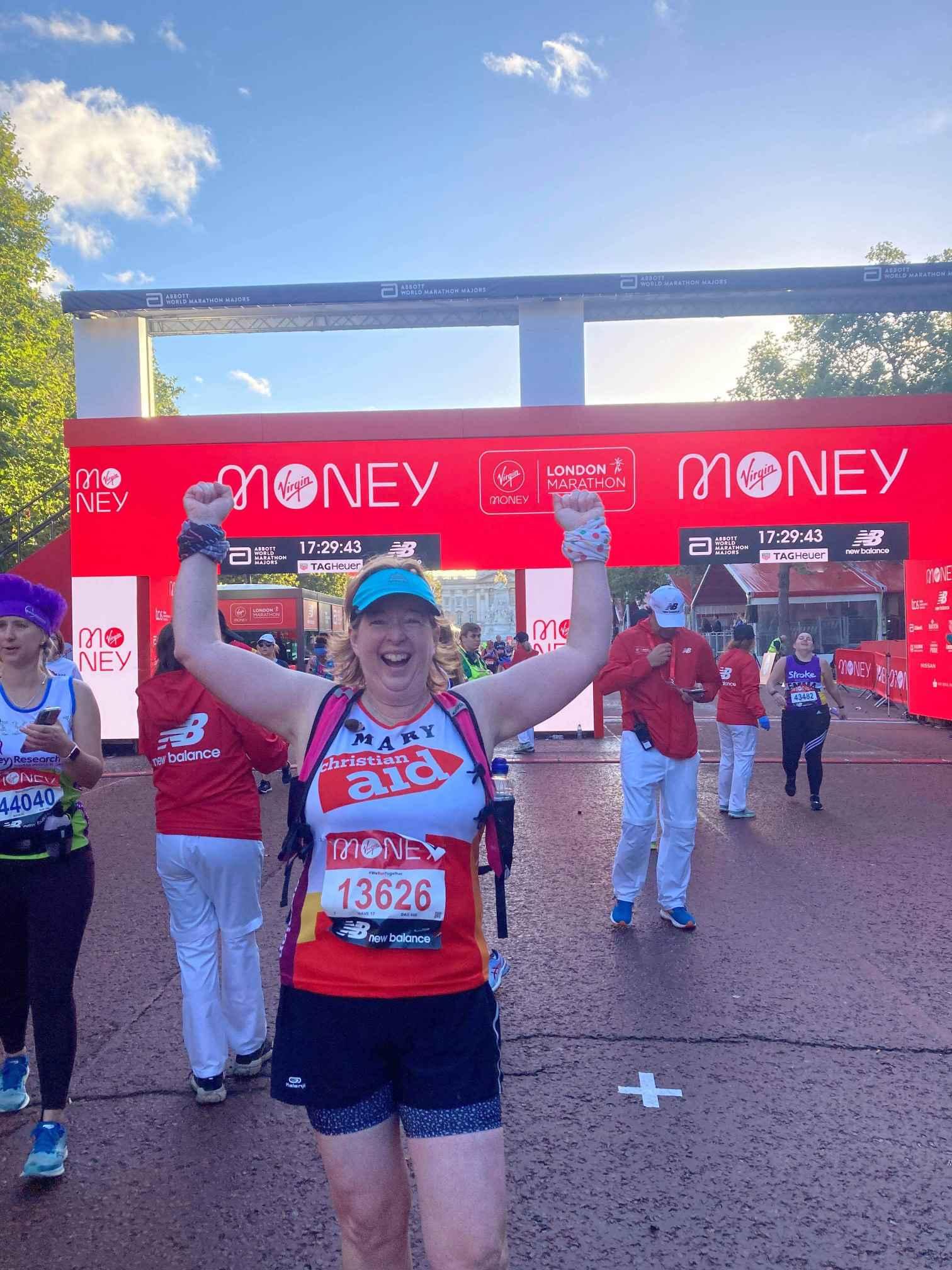 Mary London finish